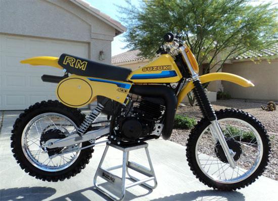 1980 suzuki rm400