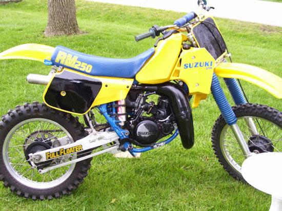 1984 Suzuki RM250