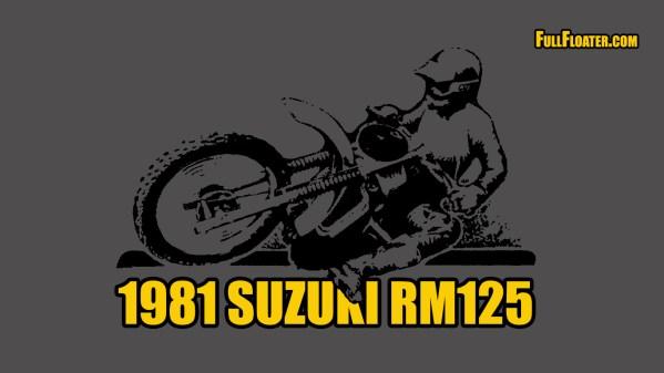 1981 Suzuki RM125 Desktop Background