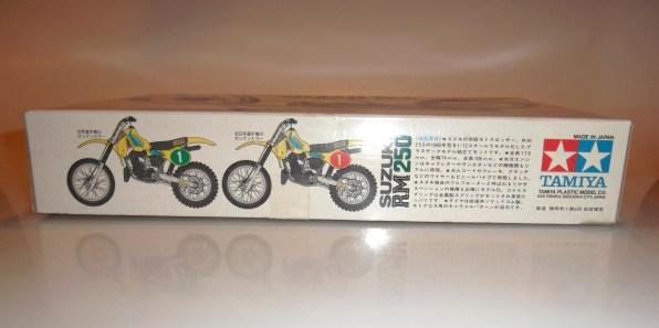 1982 Suzuki RM250 Tamiya Model Kit