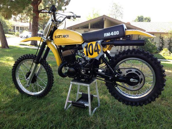 1978 RM 400 De Coster Autographed Race Replica