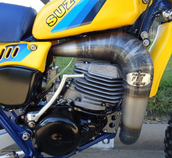 1981-1982-1983-SUZUKI-RM465-RM500-PFR-EXHAUST