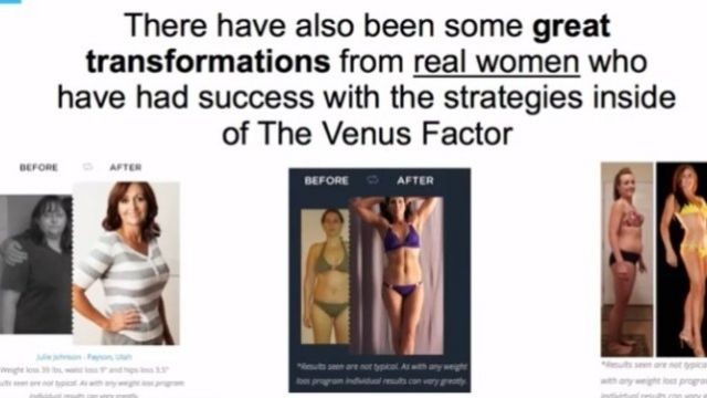 The Venus Factor 2.0 Before After Result