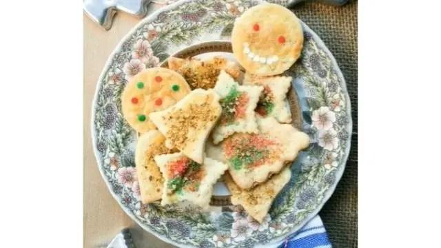 An Amish Christmas Sand Tart Cookie Recipe