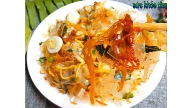 Authentic Banh Trang Tron Recipe