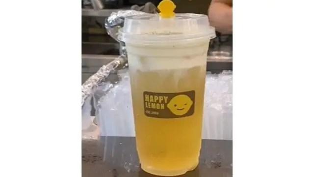 Recipe For Happy Lemon Cheese Green Tea