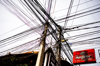 Siem Reap - The electricity