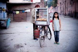 India Rishikesh Little Girl