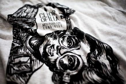 clorofilla su tshirt
