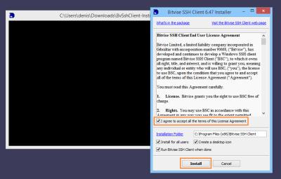 Bitvise SSH Client 7.43 License Key Full Download