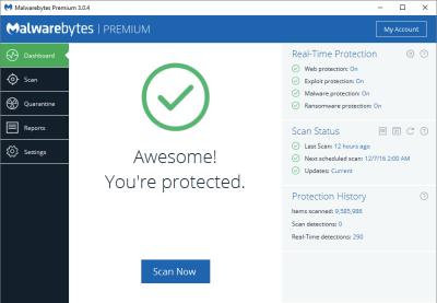 Malwarebytes 3.6.1 Activation Code