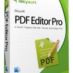 iSkysoft PDF Editor Pro 6.4.2 Crack + Registration Code Full Download