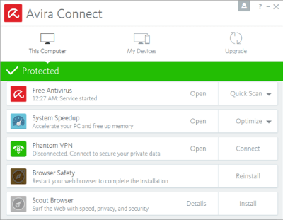 Avira Optimization Suite 1.2.117.15171 Serial Number