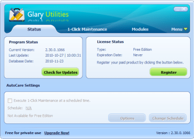 Glary Utilities 5.111.0.136 Keygen