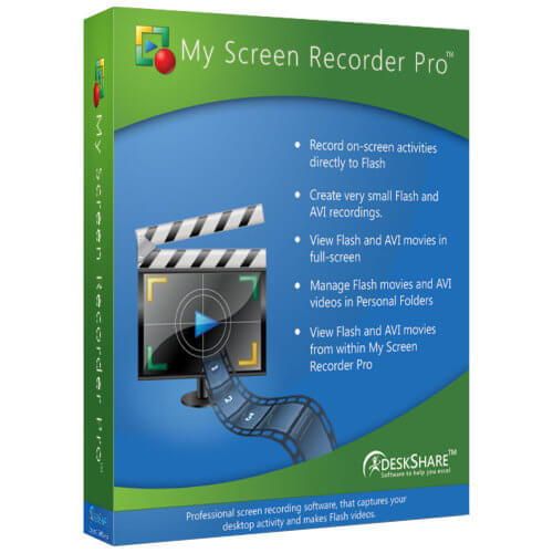 My Screen Recorder Pro 5.21 Crack + Activation Key Full Version 2020