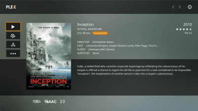 Plex Media Player 2.16.0.885 Mac
