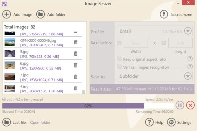 IceCream Image Resizer 2.10 Crack With Keygen Latest Version