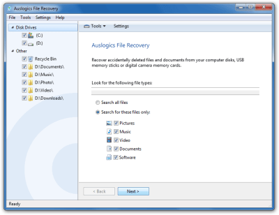 Auslogics File Recovery 9.0.0.1 Crack + Registration Code Full