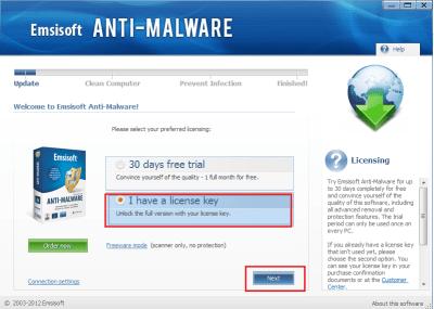 Emsisoft Anti-Malware 2020.9.0.10390 Crack + License Key Final 2020