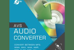 AVS Audio Converter 9.1.3.601 Crack + Serial Key Free Download 2020