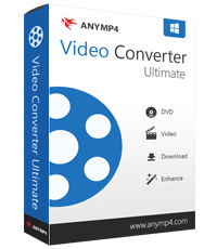 AnyMP4 Video Converter Ultimate 7.2.60 Crack With Key Full Torrent