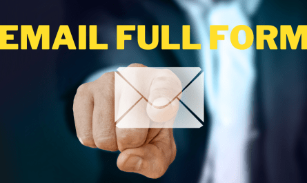 EMAIL FULL FORM