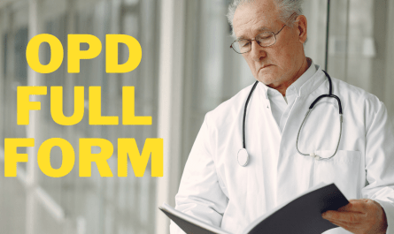 opd full form in hindi