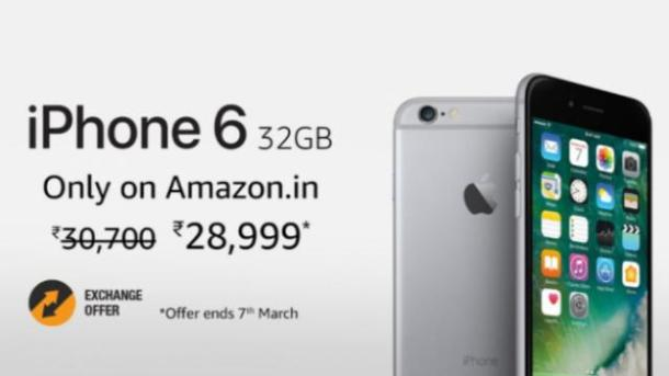 Apple iPhone 6 32GB Space Grey variant available for Rs 28,999 on Amazon