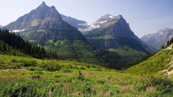 mountains landscape stunning