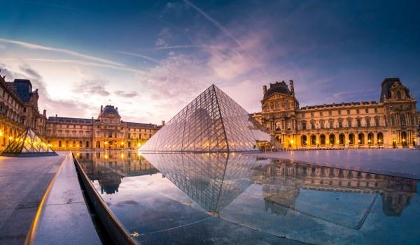 Louvre Pyramid 3000x1757 - Full Hd Wall