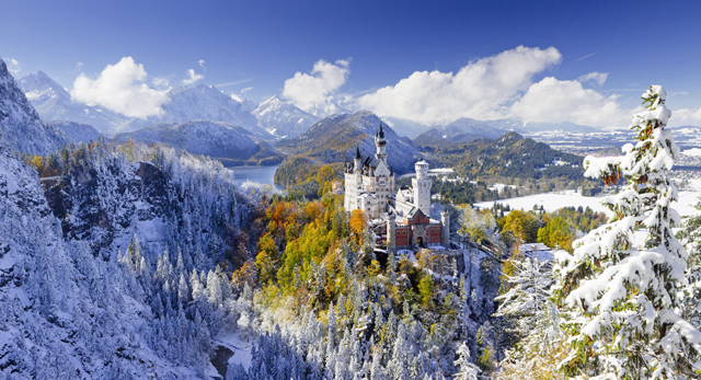 Wallpaper For Phones Fall Bavarian Alps Image Cool Bavarian Alps 640x347 17625
