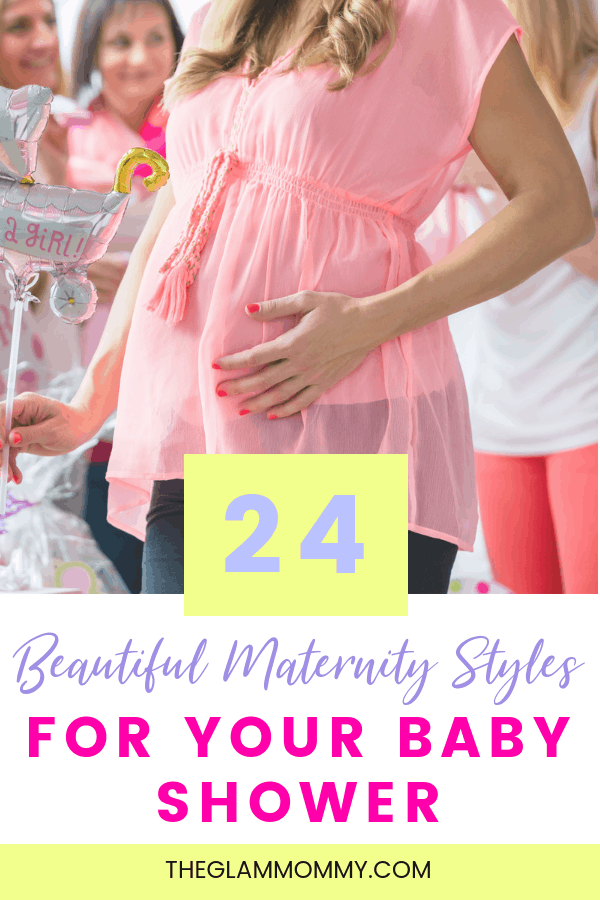 Baby Shower Outfit For Mom : shower, outfit, Shower, Heart, Mommy