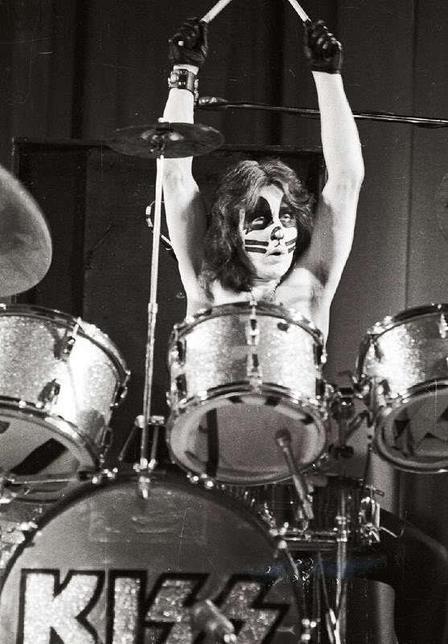 Peter Criss Gear, Drums, Drum Set, KISS, Equipment