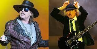 AC/DC's Angus Young Pranks Guns n Roses