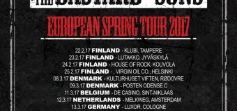 Motorhead's Phil Campbell & the Bastard Sons 2017 European Tour Dates