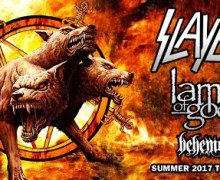 Slayer, Lamb of God, Behemoth Announce 2017 Tour Dates