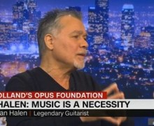 Eddie Van Halen Donates Personal Guitar Collection to Charity