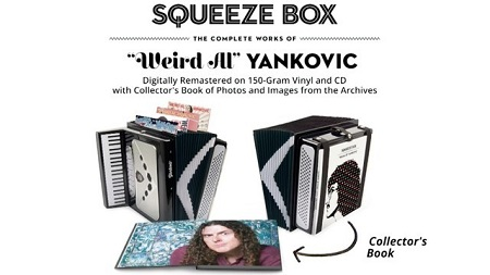 Weird Al Yankovic Box Set Squeeze Box Remastered