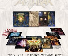 Listen to New Anthrax Song, 'Vice of the People' from Limited Edition 'For All Kings' Box Set