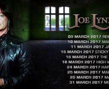 Joe Lynn Turner Announces Touring Band Lineup, 2017 Tour Dates, EU, US, Rainbow