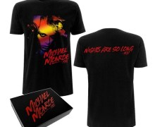 Ex-Hanoi Rocks Vocalist Michael Monroe Offering Limited Edition T-Shirts