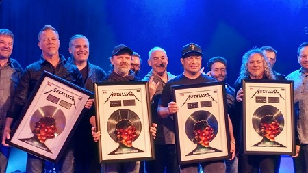 "Metallica RIAA Certifications:  Did They Cheat? 'Hardwired"" Certified Platinum, Rotten in Denmark"