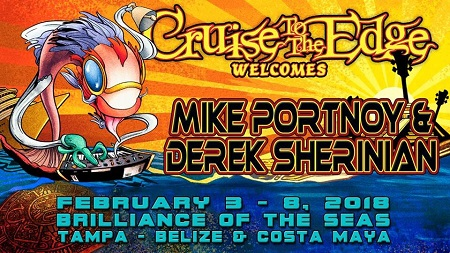 New Supergroup w/ Mike Portnoy and Derek Sherinian Added to Cruise to the Edge w/ Yes, Saga and Marillion
