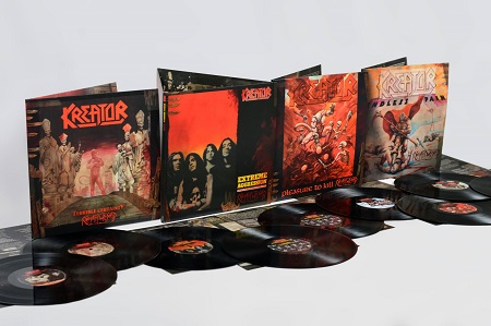 Kreator to Re-Release Classic Albums w/ Bonus Material - CD, Vinyl and Digital