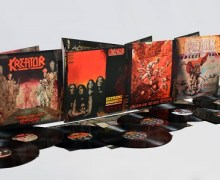 Kreator to Re-Release Classic Albums w/ Bonus Material – CD, Vinyl and Digital