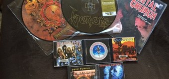 Record Store Day Purchases – Saxon 'Into the Labyrinth, Venom 'At War with Satan'