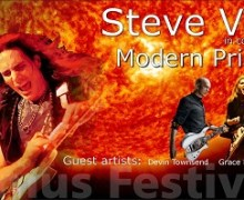 Steve Vai & Nuno Bettencourt to Perform for Stephen Hawking @ 2017 Starmus Festival