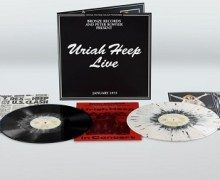 'Uriah Heep Live' Gets 2 LP 'Splatter Vinyl' Re-release