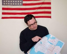 "Damien Jurado Launches His 50 State Tour, ""If you are an artist, a musician, poet, or if you want to host a show, please reach out"""