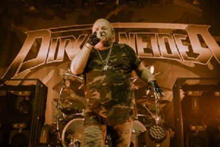 Udo Dirkschneider 2017 - 2018 Tour Dates - Europe, Russia & North America Tour